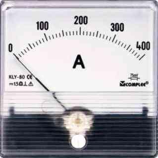 测量直流电流,线性刻度.代表符号为c型.动圈式结构.  准确度等级为1.