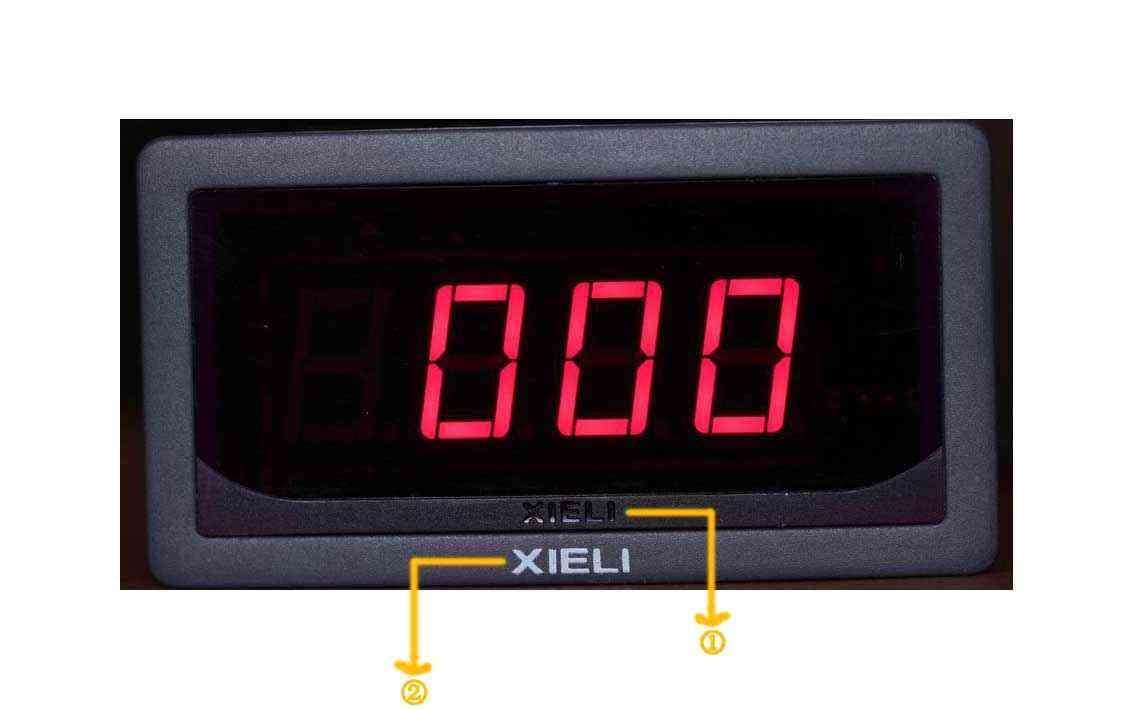 xl5135三位半数字直流电压表