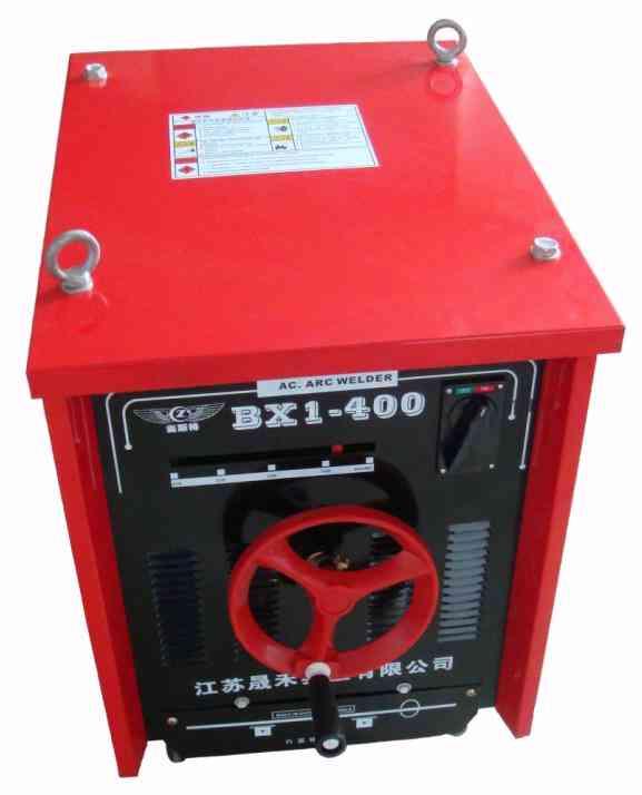 一,bx3-500交流弧焊机额定输入电源50hz单项380v额定输入电流95a额定