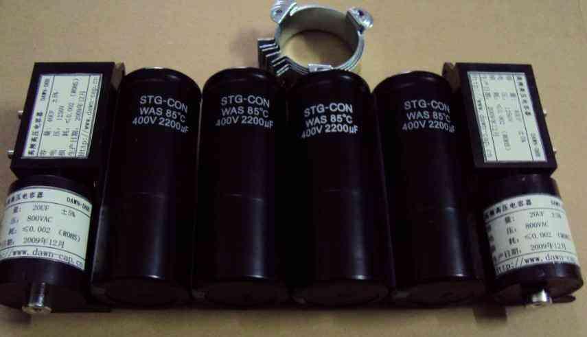 电焊机专用系列滤波电容器图片
